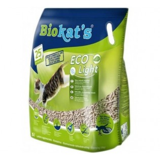 Posip za mačke, Biokates Eco Light, 5l
