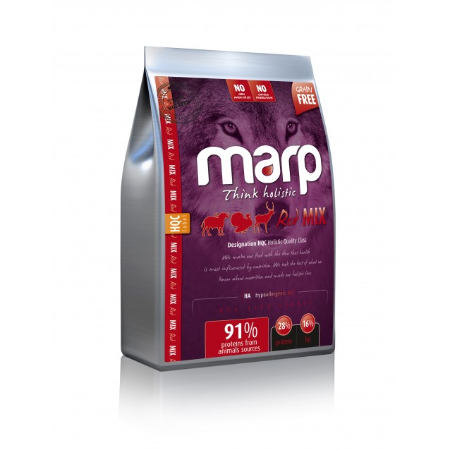 Marp Holistic Dog Grain Free - Red Mix - 12kg