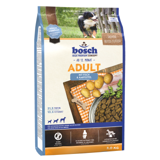 Bosch Adult - riba in krompir - 3 kg