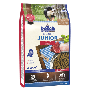 Bosch Junior - jagnje in riž - 3kg
