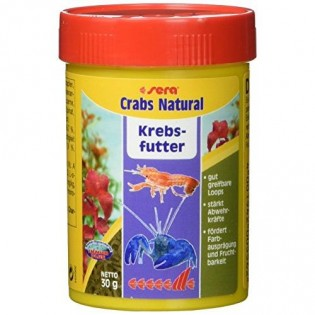 Sera Crabs Natural - popolna hrana za rake - 100ml